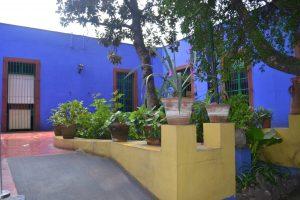 Interior de la Casa Azul