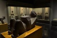 Escultura Chak Mol en el Museo Nacional de Antropología, Ciudad de México