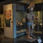 Escultura prehispanica en el Museo nacional de Antropología