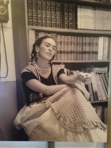 Frida Kahlo photograph at the Diego Rivera Studio House