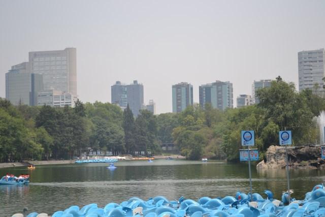 Lago Mayor de Chapultepec