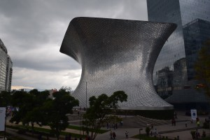 The Soumaya Museum, Polanco, Mexico City