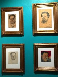 Litografías de Diego Rivera en el Museo Dolores Olmedo