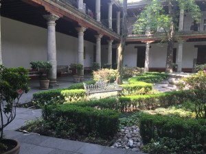 Jardín Interior, Museo Franz Mayer