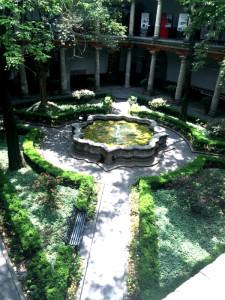 Museo Franz Mayer Fuente Jardín Central