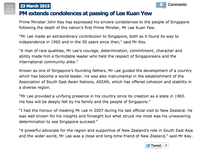 World Leaders Pay Tribute To The Remarkable LKY Must Share News - World most powerful country 2015