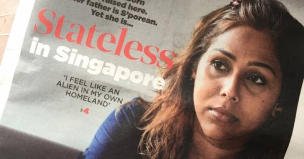 Woman Born & Bred In Singapore, But Her Blue IC Says She Is Stateless