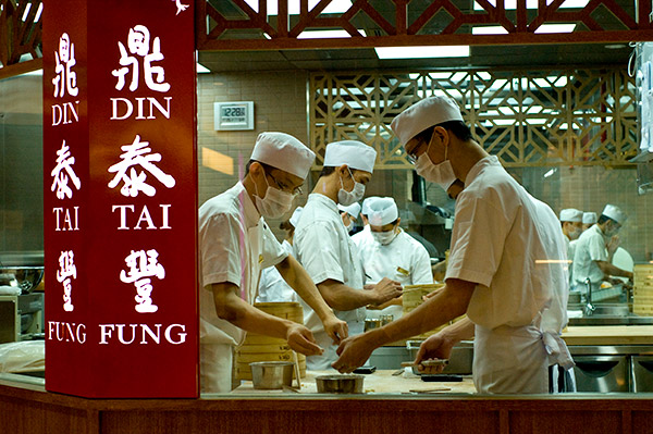 popular singapore brands - din tai fung