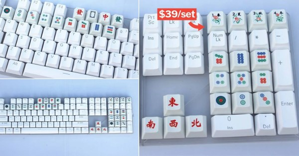 Mahjong Keyboard Sets Are Here So You Can Still Mo Pai At Work