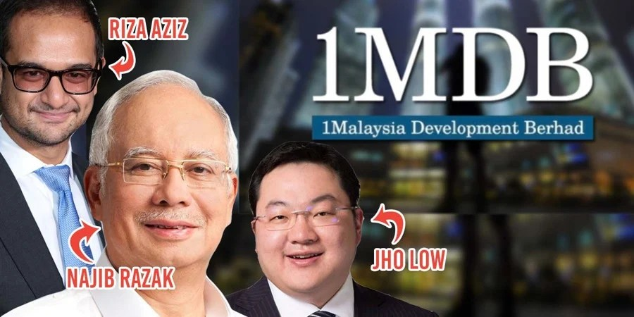 Image result for Najib Razak and the 1mdb gang