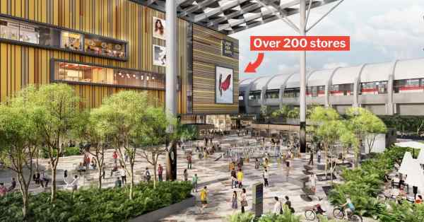 Paya Lebar Quarter Mall Opens On 30 Aug With Cinema, HDL & Korean Fried Chicken