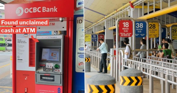 S'porean Woman Finds Cash At ATM, Tells Owner 'Don't Worry' On Facebook As She Returns It To OCBC