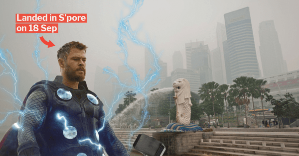 Chris Hemsworth Turns Into God Of Wefies For Thankful S'poreans