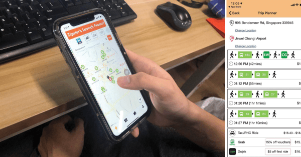 New Transport App Lets You Compare Grab, GoJek & Public Transport Prices At The Same Time