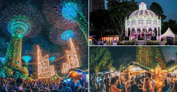 Christmas Wonderland At Gardens By The Bay Has 10 Parades, Carnival Rides & Food Markets From 29 Nov