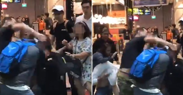 2 Men Arrested After Reported Argument Over Seats At A&W Changi Jewel Turns Into Full On Brawl