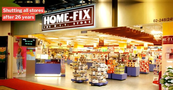 Home-Fix Closes All 23 Physical Stores In S'pore, Last 2 Outlets In Tampines & Tanglin Closing This Week