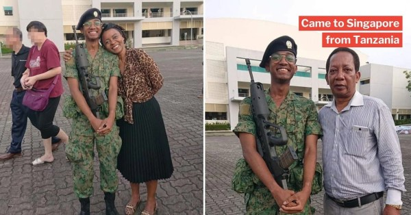 African-S'porean Graduates BMT, Compares Parents' Hilarious Social Media Posts