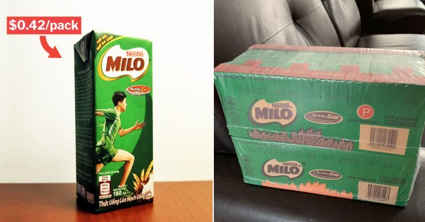 "Milo Costs $0.42/Packet Till 21 Jan At All S'pore Supermarkets So You Can ""Kick Ball"" This CNY"