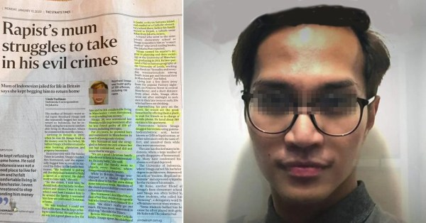 S'pore Netizen's Analysis Of Britain's Worst Rapist Teaches Us How Privilege Doesn't Erase Crime
