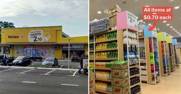 Ninso Is M'sia's Daiso But With Everything At $0.70 & It Just Opened Near Tuas Checkpoint