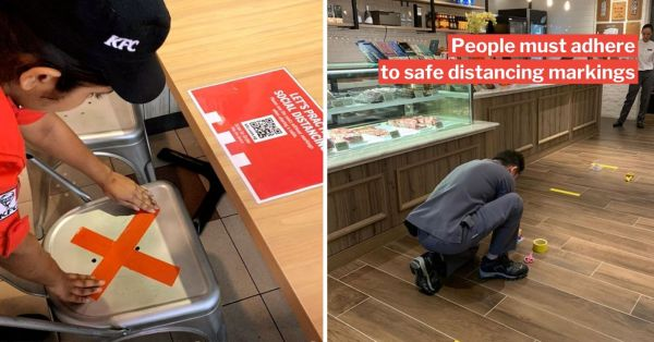 Purposely Sitting Or Queueing Less Than 1m Apart Now An Offence, You Could Get Jailed & Fined
