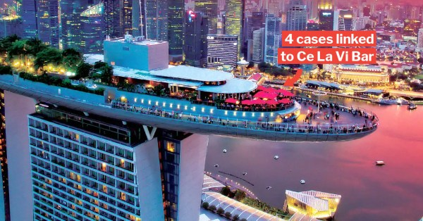 65 New Covid-19 Cases In S'pore On 3 Apr, MBS Bar Emerges As New Cluster