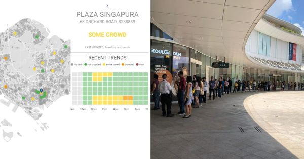 S'pore Launches Real-Time Maps That Let You Siam Crowds In Malls & Parks