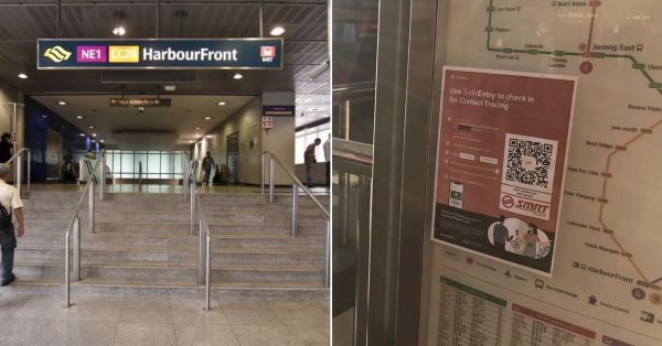 MRT Stations & Bus Interchanges Will Have QR Code Scans, Prepare Your Phones Upon Entry