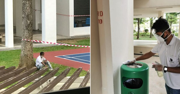 Sembawang Cleaner Hailed On Social Media After Residents Noticed His Work Ethic