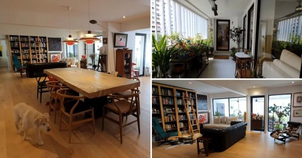 Jumbo HDB Flat Looks Like A Condo With Built-In Wardrobe & Terrace In Ang Mo Kio