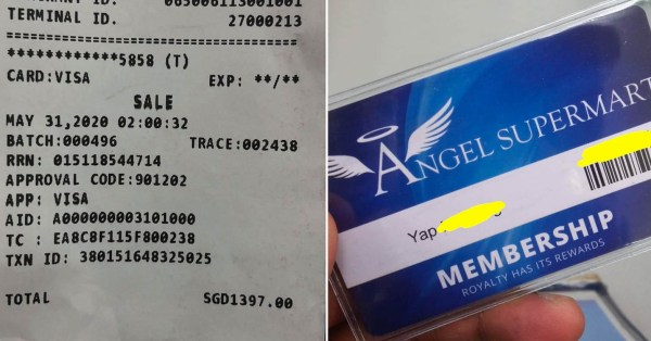 Ang Mo Kio Supermart Charges Customer $1,397 Instead Of $13.97, Hunts Him Down To Return Money