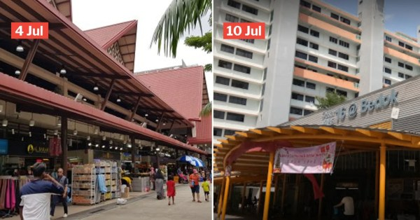 3 Markets In Geylang Serai, Bukit Panjang & Bedok Visited By Covid-19 Patients Over Last 7 Days