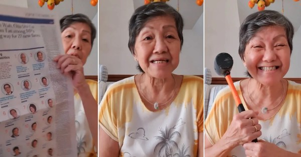 Ah Ma Posts Sincere Video Message, Sharing LKY Stories To Ask Us To Vote Wisely