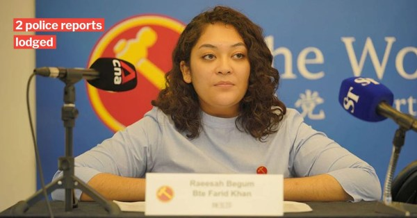 WP's Raeesah Khan Apologises For Insensitive Remarks, Will Cooperate With Police Investigations