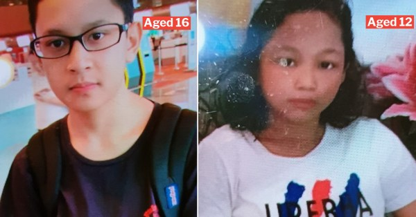 2 Missing Kids Last Seen In Tampines On 14 Aug, Contact 999 If Found