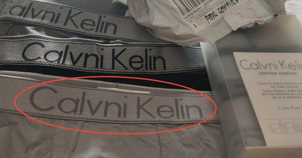 Man Orders Calvin Klein Briefs On Lazada & Gets Imitation Ones, Allegedly Can't Claim Refund