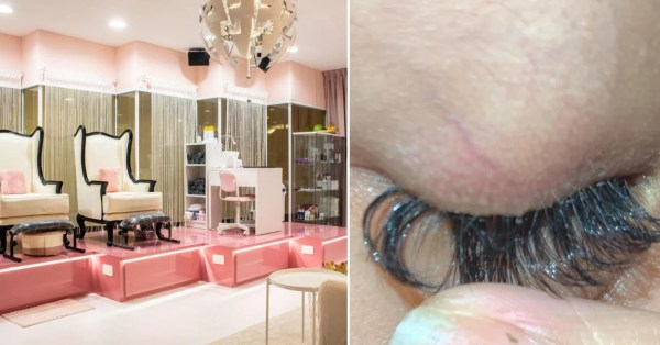 S'pore Women Accuse Beauty Salon Of Super-Gluing Lashes, Make PSA To Warn Others