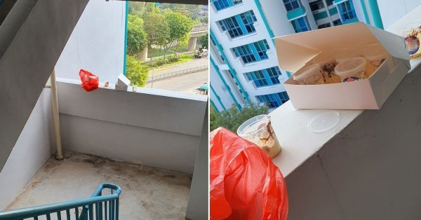 Sembawang Home Baker Leaves Orders Out For Self-Collection, Finds Half-Eaten Mess At Stairwell
