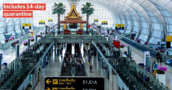 S'poreans Can Travel To Thailand For Leisure, Must Have Special Visas & Stay 90 Days