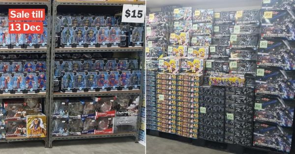 Eunos Toy Sale Has Star Wars, DC & Gundam Merch, Just In Time For Christmas Shopping