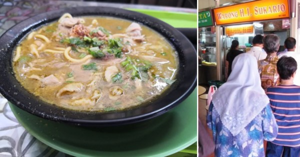 Hidden Bedok South Mee Soto Stall Opens Only On Weekends, Draws Long Line Of Customers