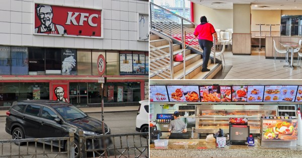 KFC Holiday Plaza To Close After 38 Years, Was Apparently The 1st Outlet In JB