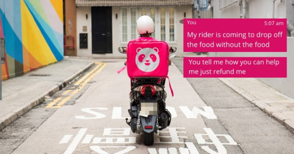 Woman's Foodpanda Order Can't Be Cancelled, Rider Had To Drop Off 'Nothing' To Complete Task