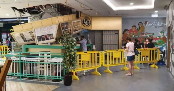Northpoint City Eatery's Signage Collapses, No Injuries Were Reported