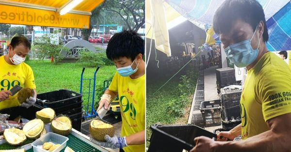 Pek Kio Durian Stall Hiring Buff Dudes So They Can Still Lift When Gyms Are Closed