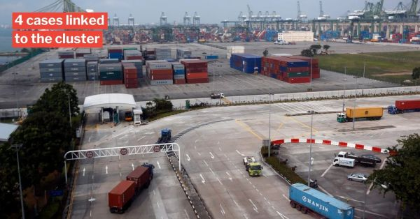 Pasir Panjang Terminal Becomes 10th Covid-19 Cluster, PSA Workers There To Be Swabbed