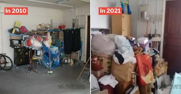Jurong Landlady Discovers Lift Lobby Filled With Neighbour's Clutter, Urges Town Council To Help