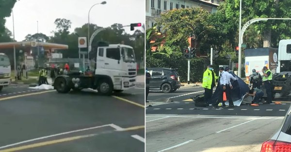 Fatal Accident Occurs Along Loyang Ave, Victim Passes Away At The Scene