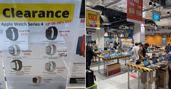 Harvey Norman Outlet Has Up To 90% Off Gadgets Like Apple Watches & Laptops